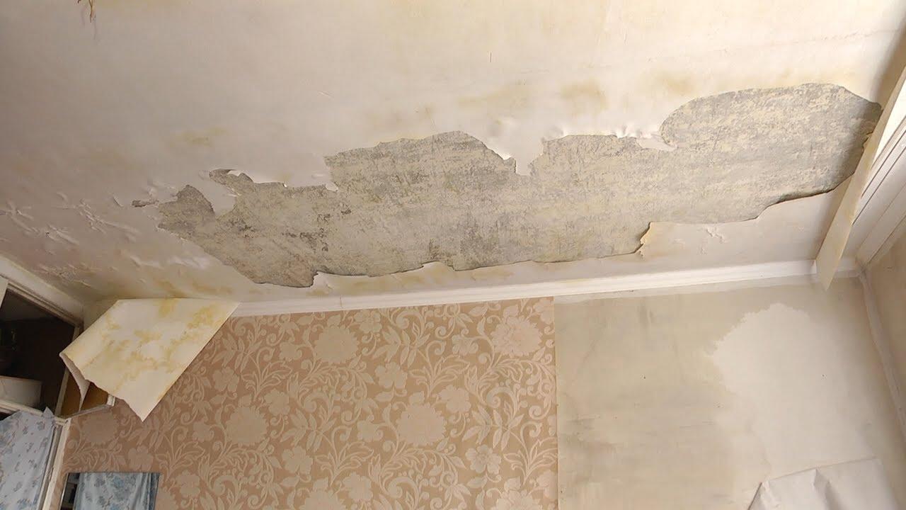 Льет, как из ведра: вода с крыши затапливает общежитие на Нижней Террасе