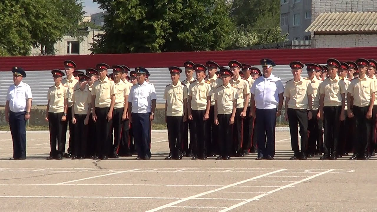 В Ульяновском суворовском училище прошел выпускной
