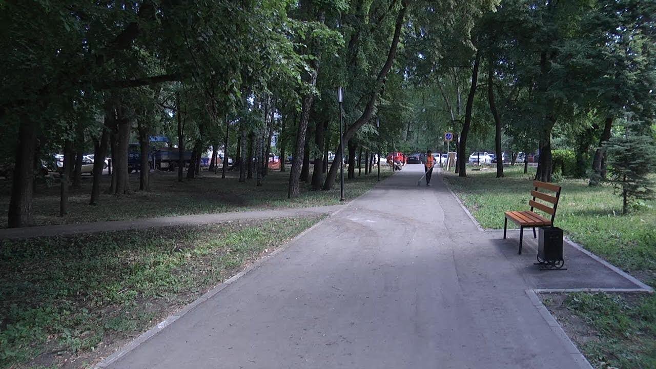 Ульяновские скверы приводят в порядок