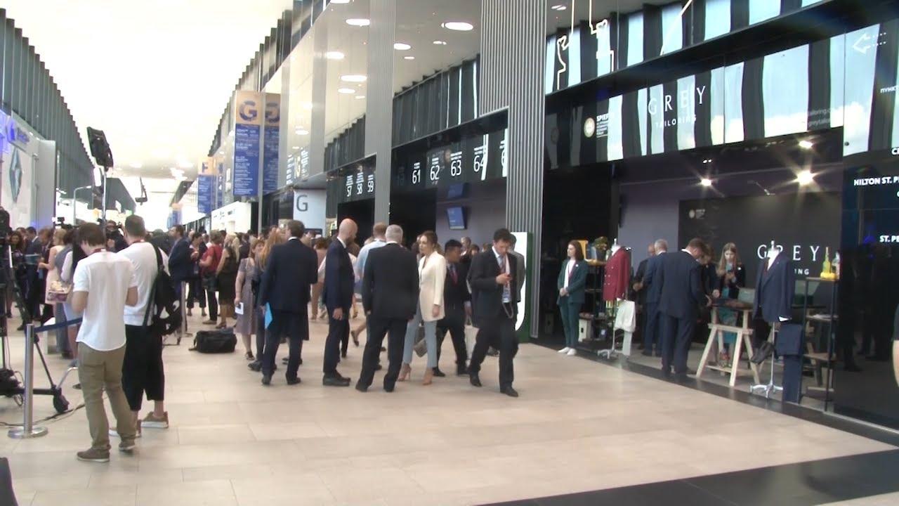 Репортаж. Петербургский экономический форум-2019