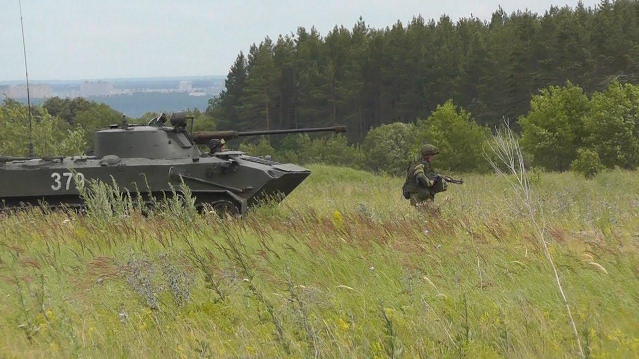 Новороссийские военные в Ульяновске