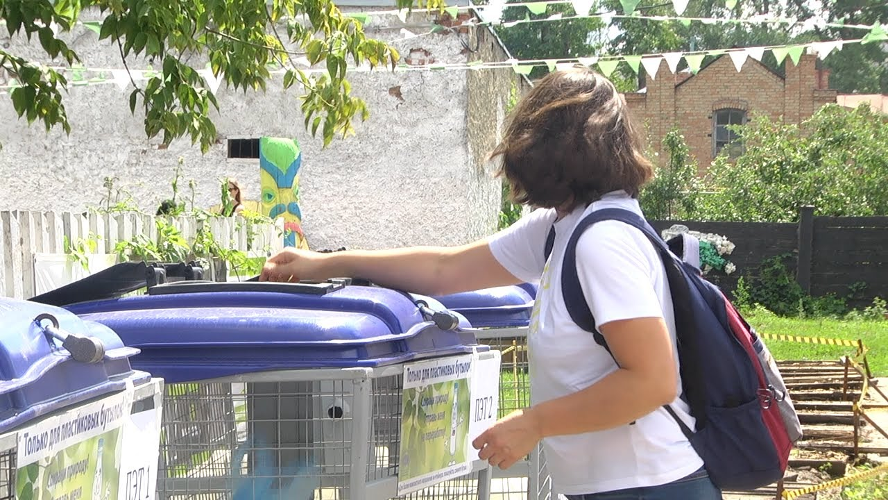 Экомарафон. Креативный подход к мусорному вопросу
