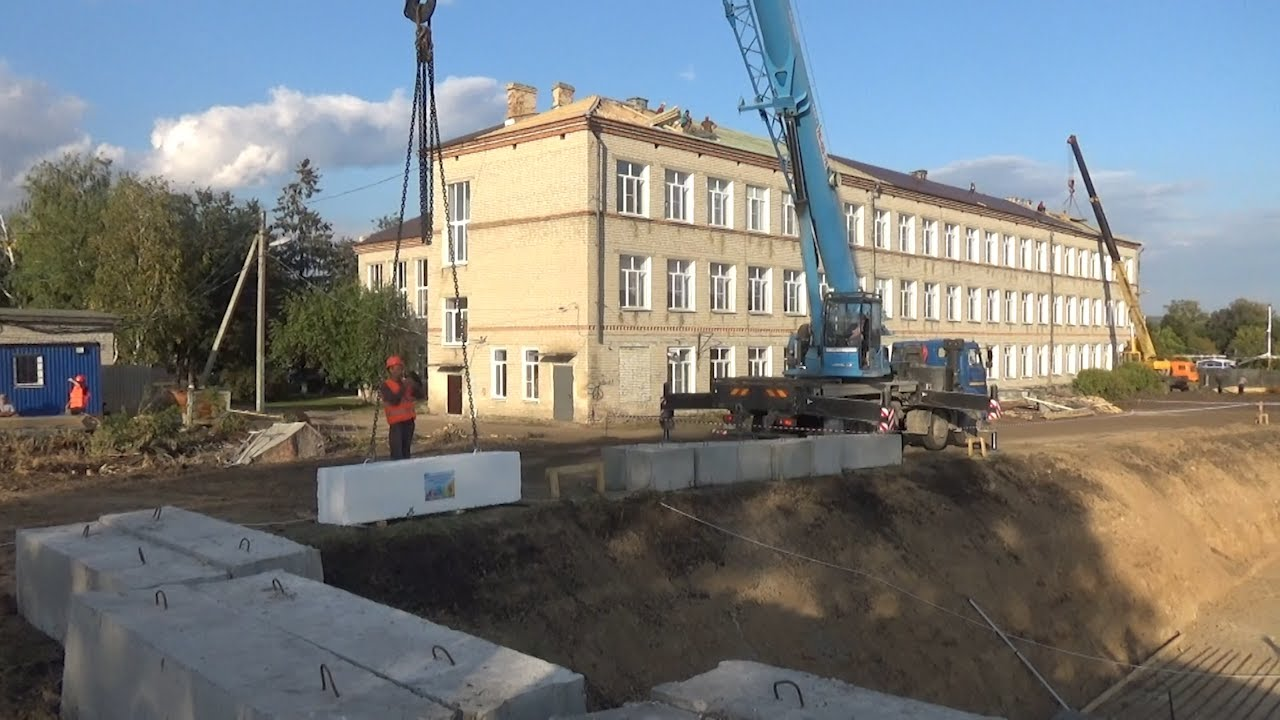 Новая школа в Тереньге