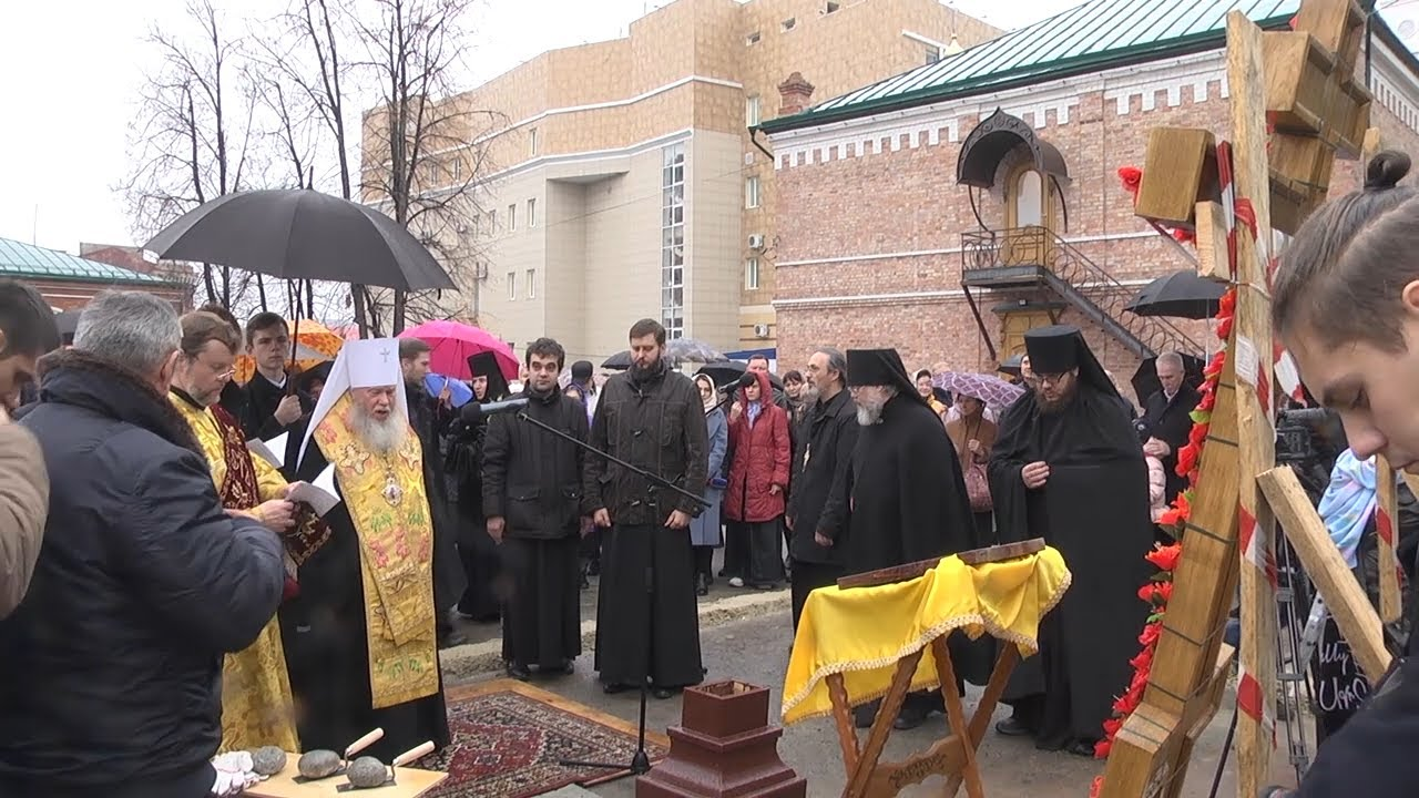 В Спасском женском монастыре построят главный храм