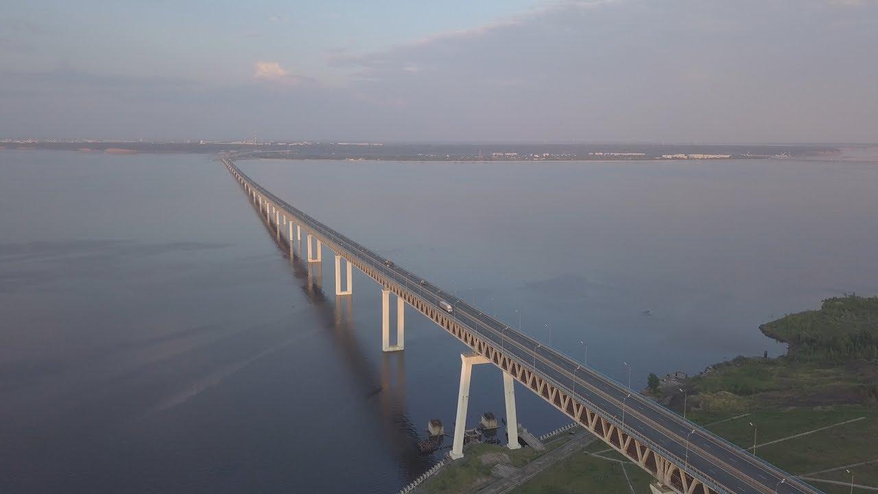 Репортаж. Президентский мост. 10 лет новый