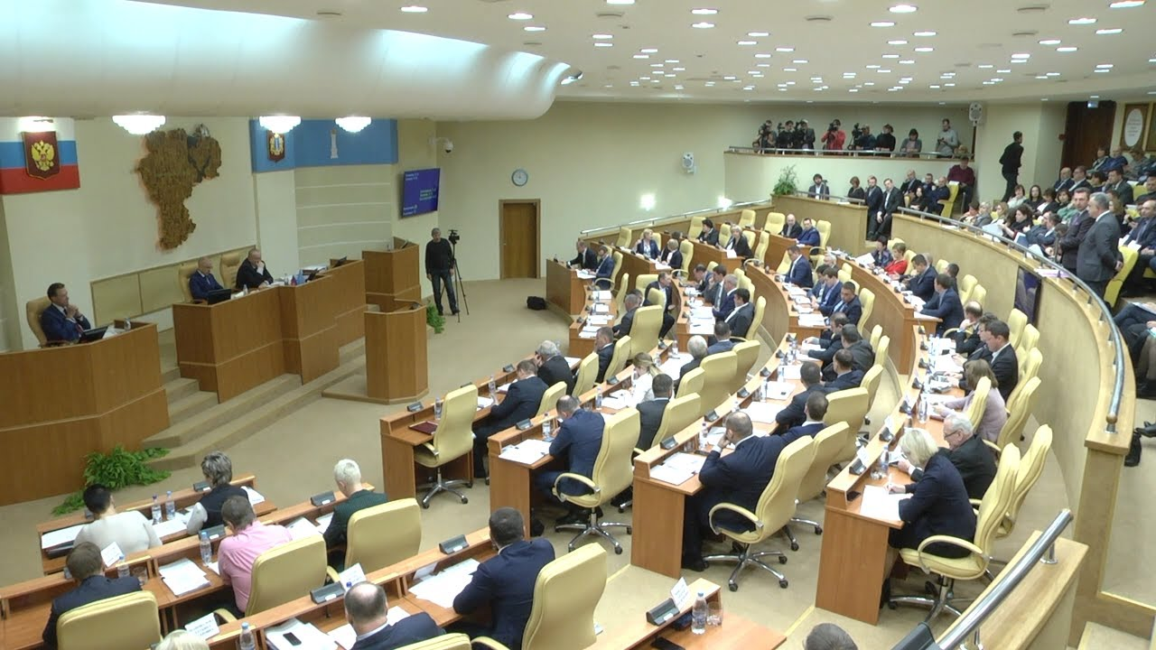Второе чтение: бюджет Ульяновской области принят