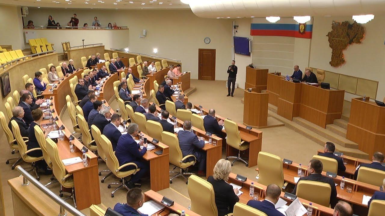 Заседание парламента. Полицейский отчёт и кадровые перестановки