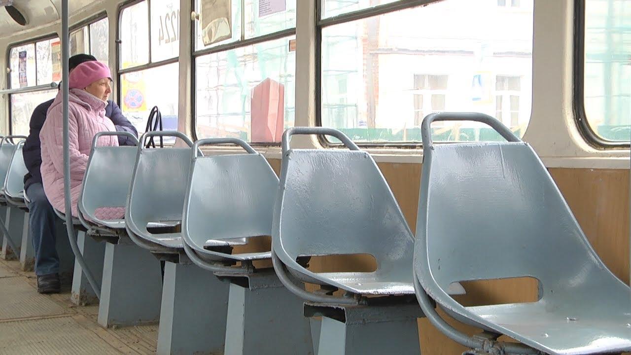 Трамваи без пассажиров