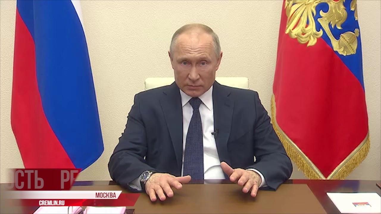 Владимир Путин о ситуации в стране