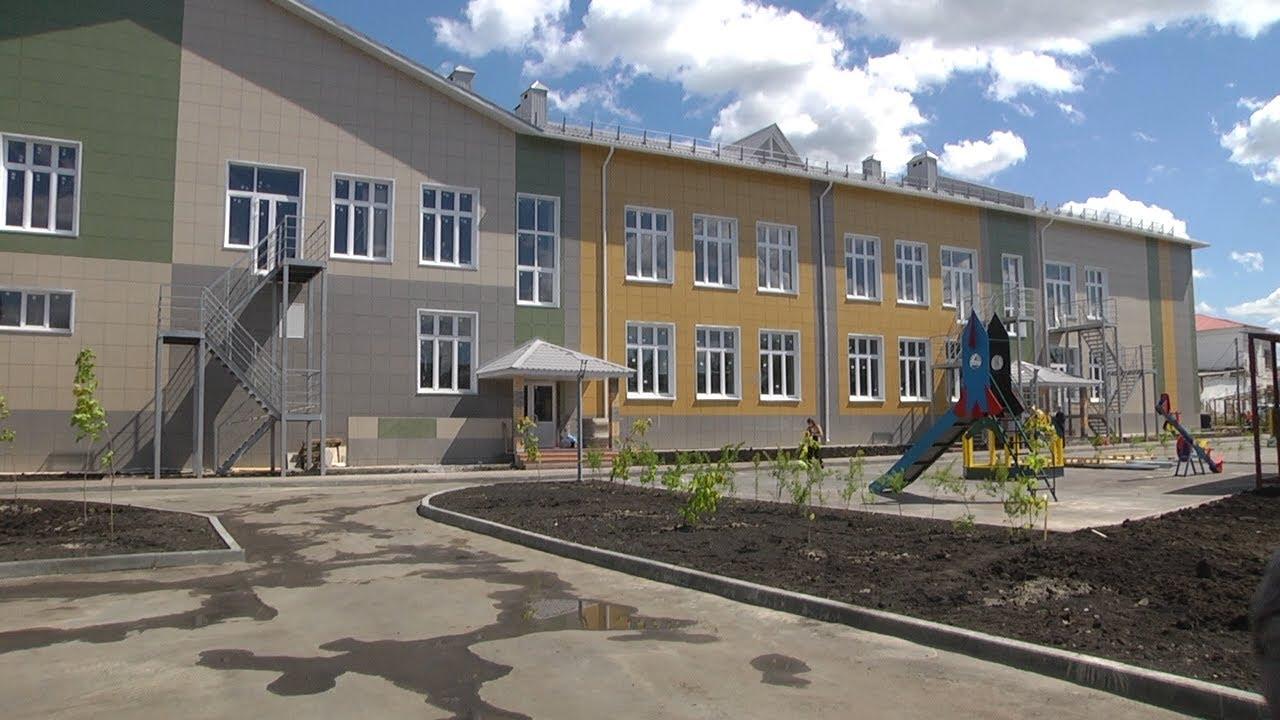 В Ишеевке достраивают комплекс «Школа-детский сад»