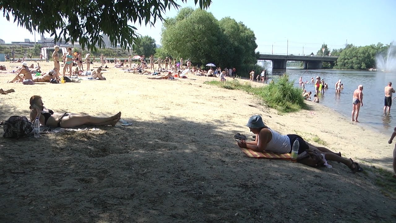 Аномальная жара и открытие купального сезона