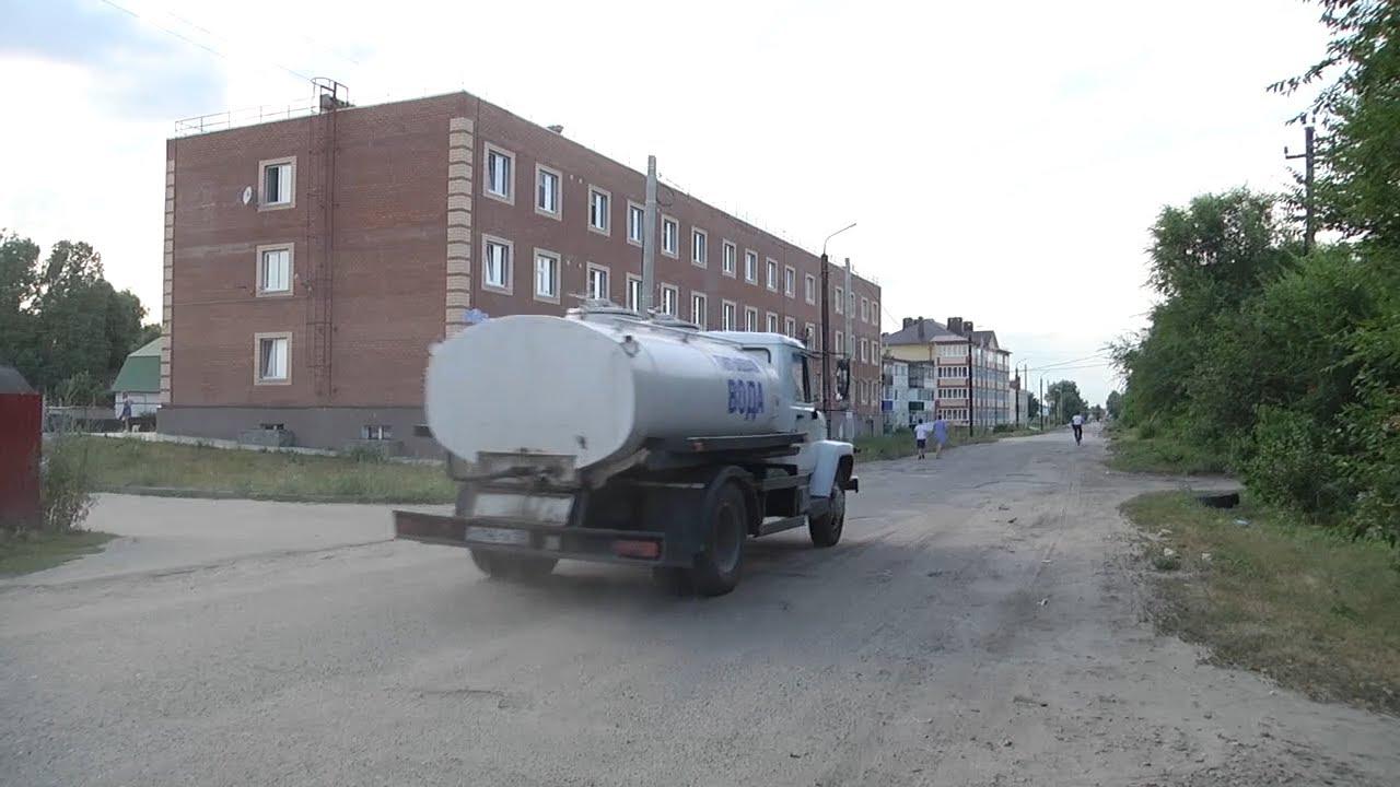 Без воды. Предчрезвычайная ситуация в районах области