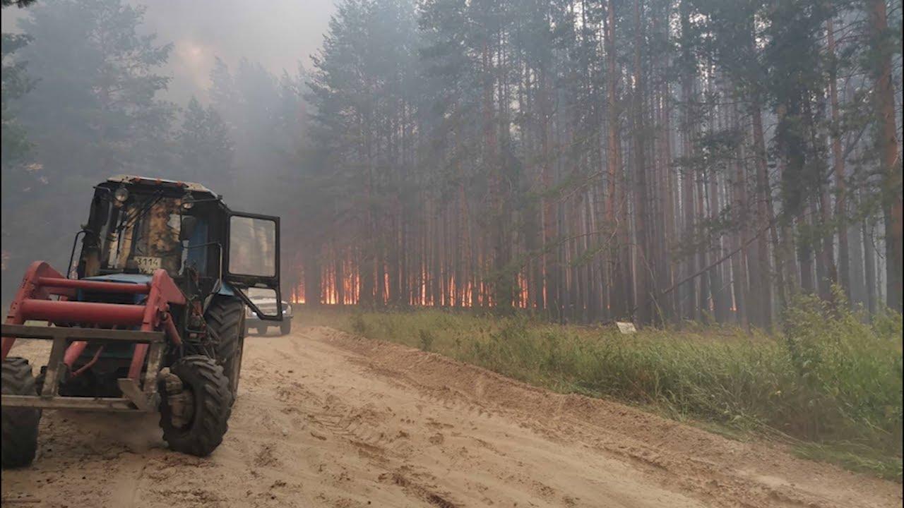 Самый большой пожар в Европейской части России