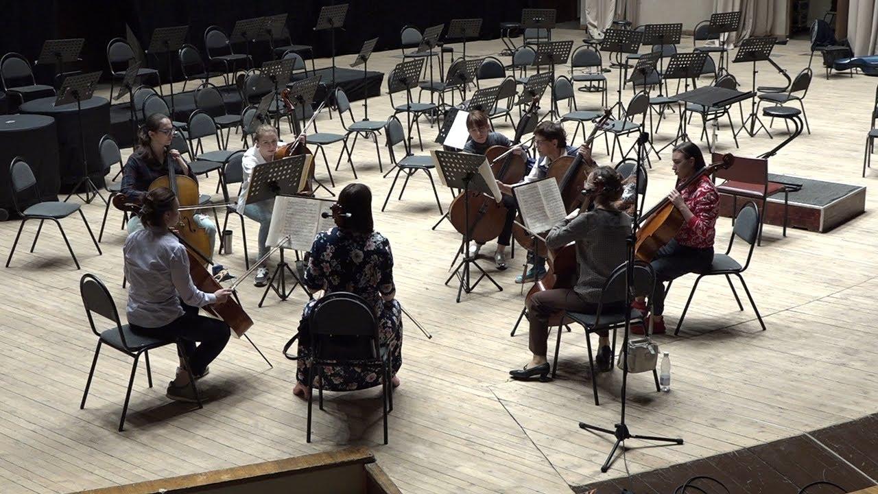 Открытие творческого сезона с симфоническим оркестром