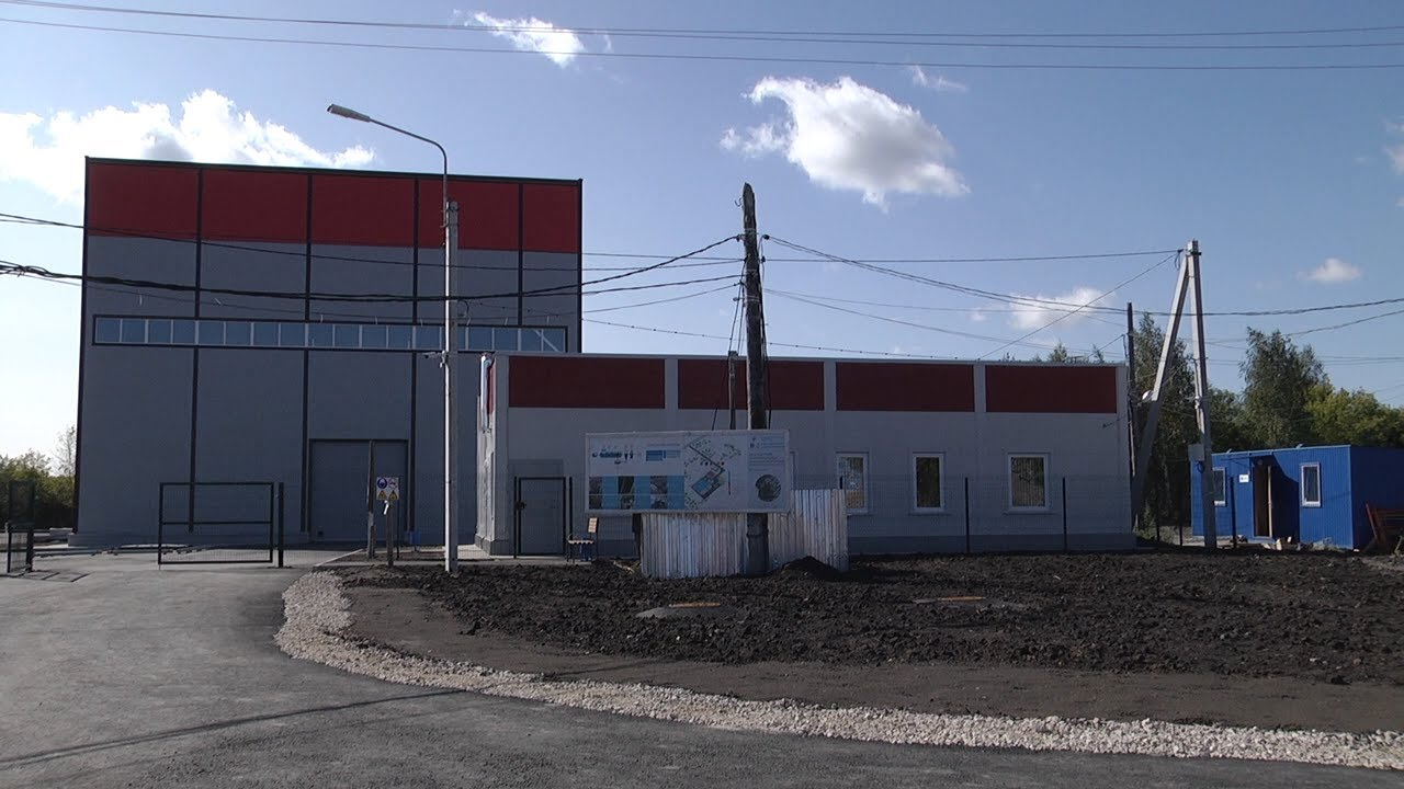 Свежие очистные в Новоульяновске