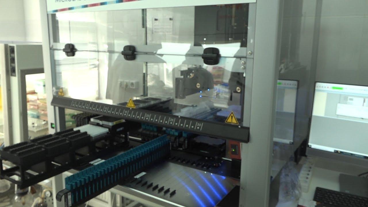 Тест проверит робот. Новое оснащение клинической больницы