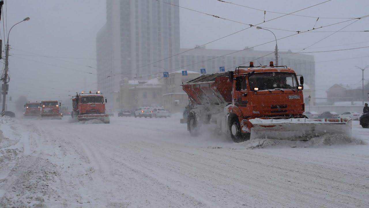 Снежное испытание. Ульяновские службы активированы