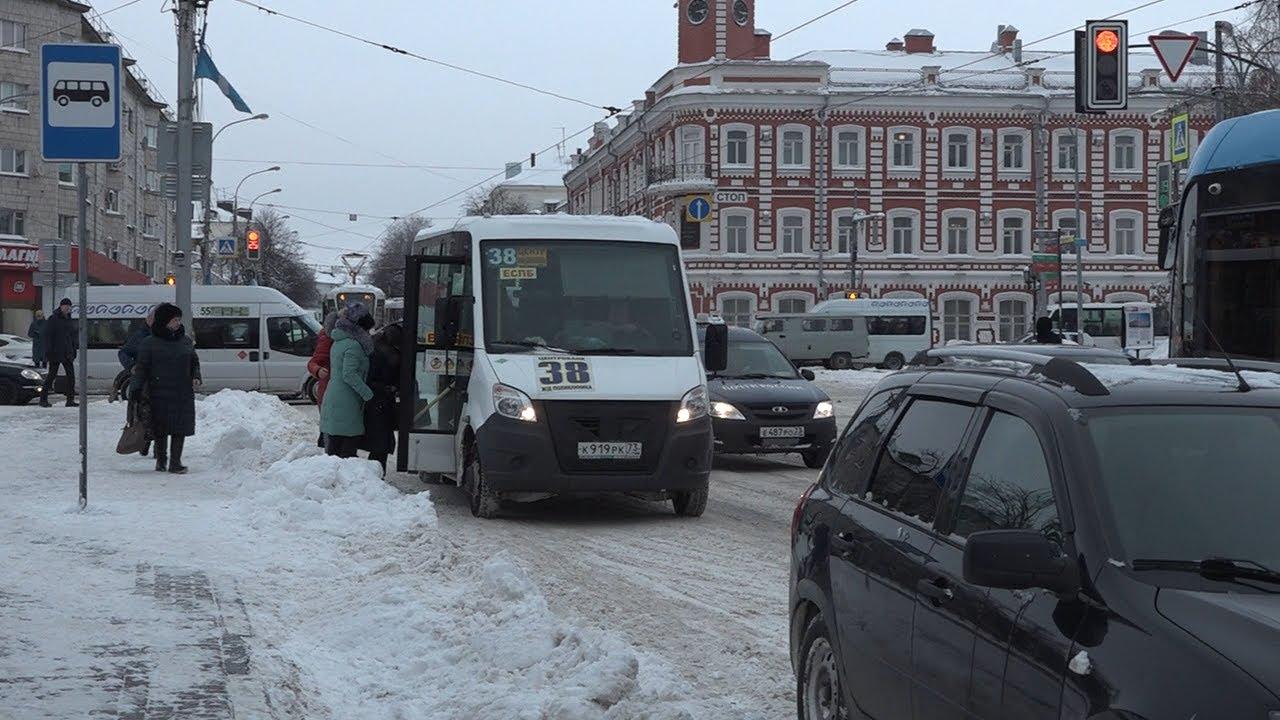 Общественный транспорт региона: Проверку снегом не прошли