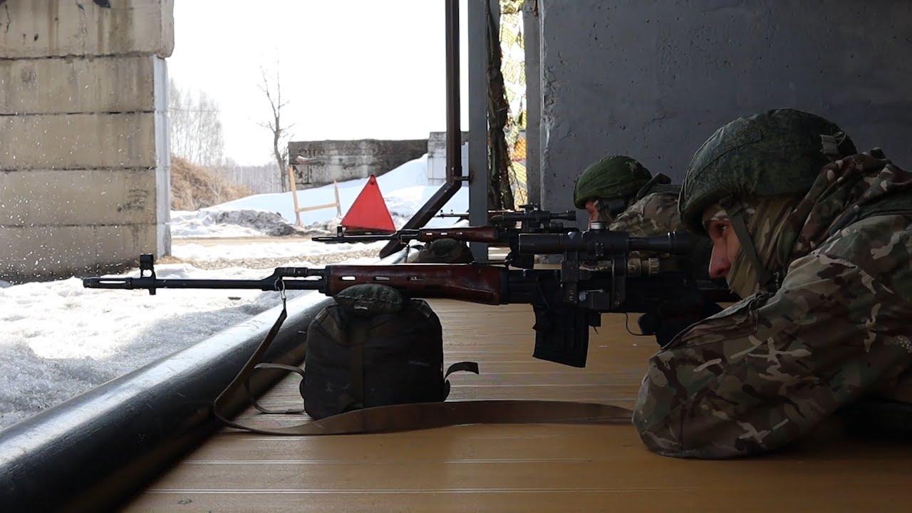Снайперский рубеж. В Поливно проходит конкурс стрелков