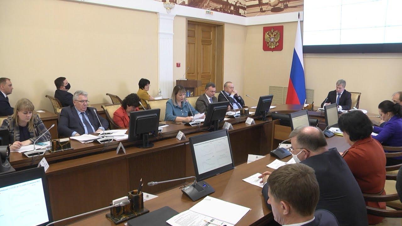 Алексей Русских объявил о назначениях и провёл аппаратное совещание в правительстве