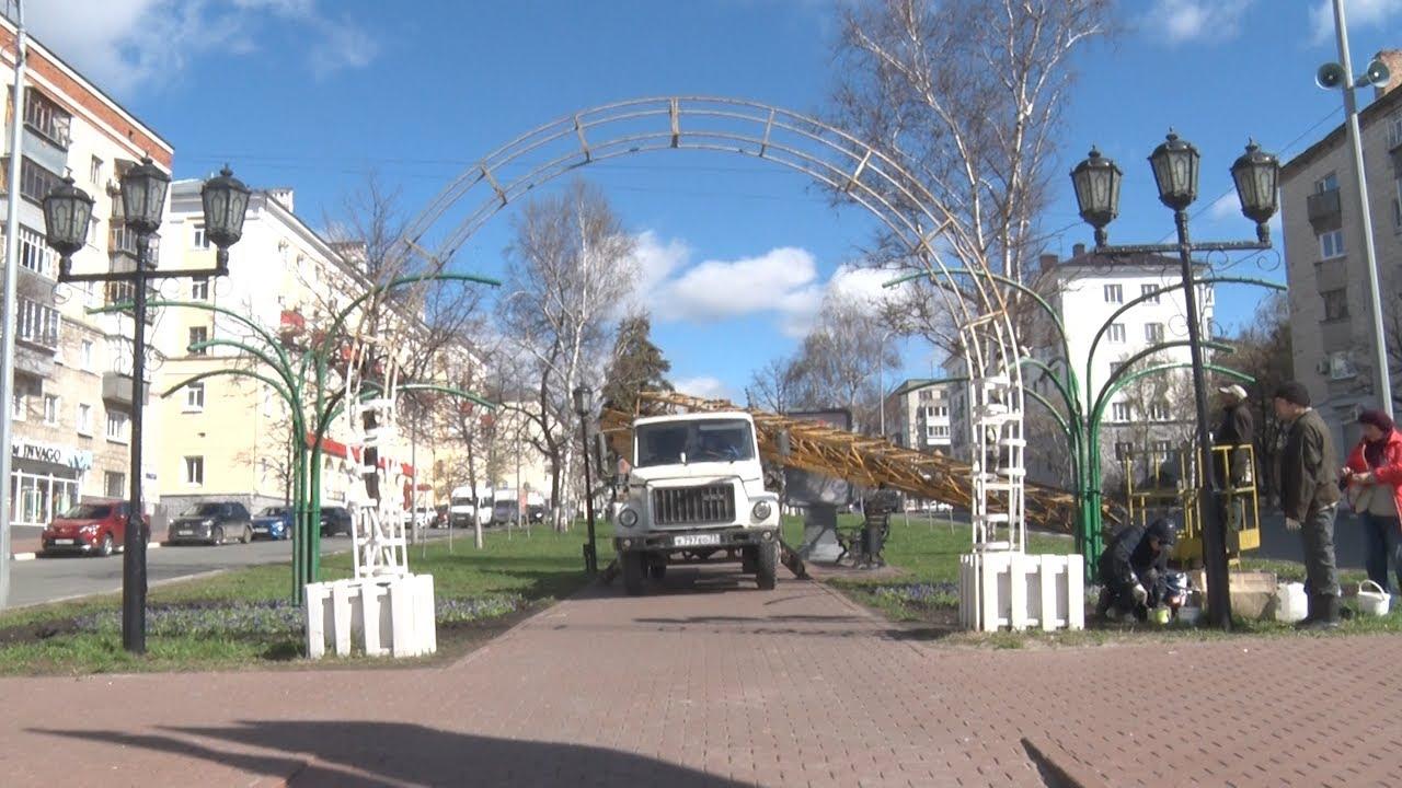 Ульяновские парки и скверы благоустроили к 9 Мая