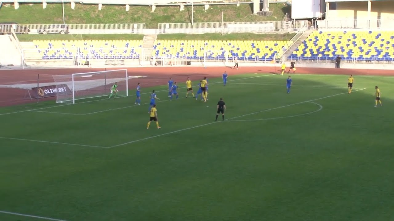 «Волга» сыграла против димитровградской «Лады»